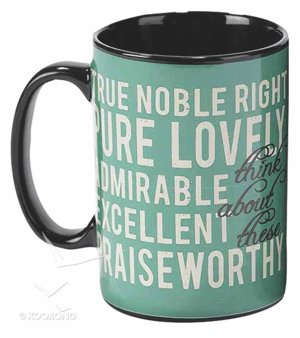 Stoneware Mug: Think (Psalm 126:3) Homeware
