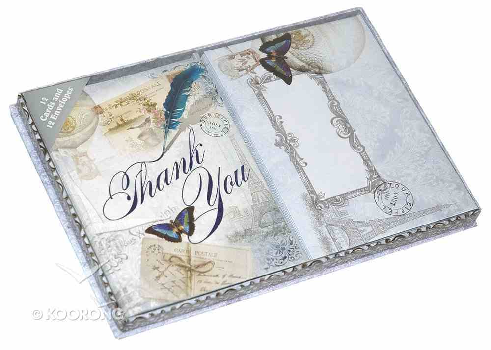 Thank You Cards (Vintage Travel Gift Collection) Box