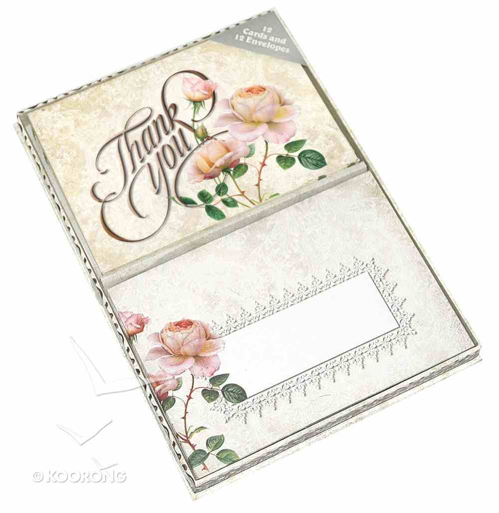 Thank You Cards (Vintage Rose Collection) Box
