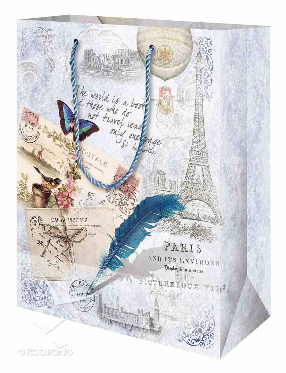 Gift Bag Medium (Vintage Travel Gift Collection Series) Stationery