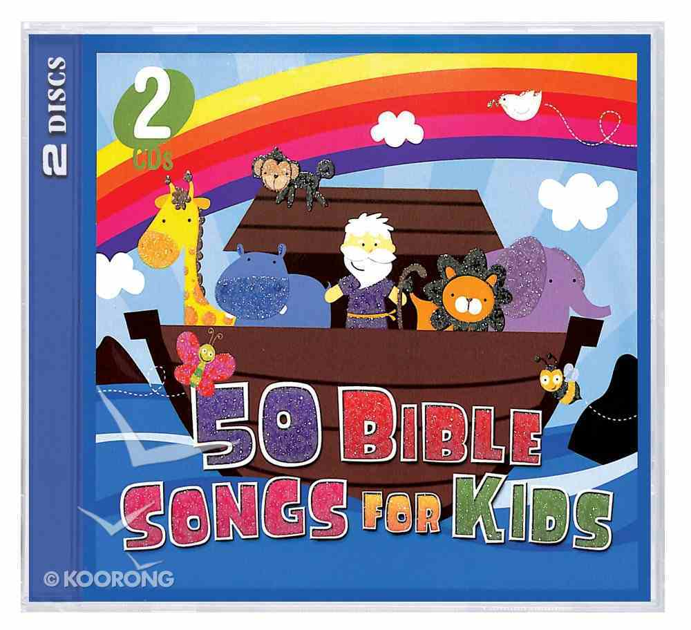50 Bible Songs For Kids (2 Cds) CD