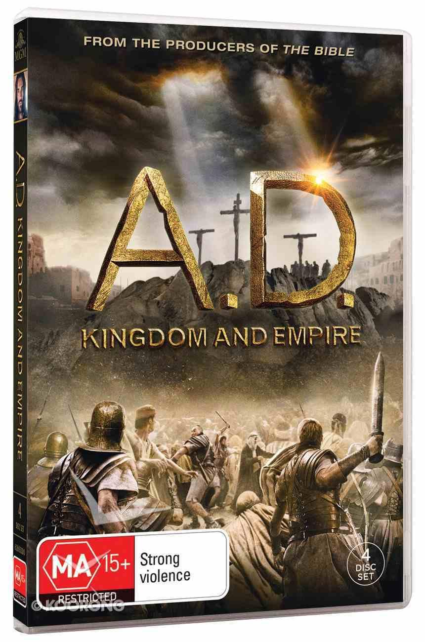 A.D. Kingdom and Empire Mini-Series (4-dvd Set) DVD