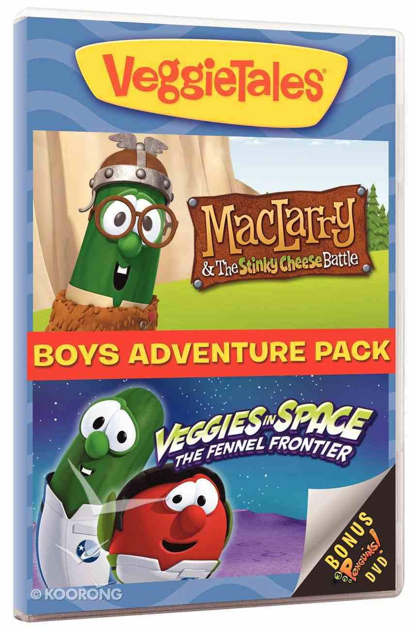 Veggie Tales: Boys Adventure Pack DVD