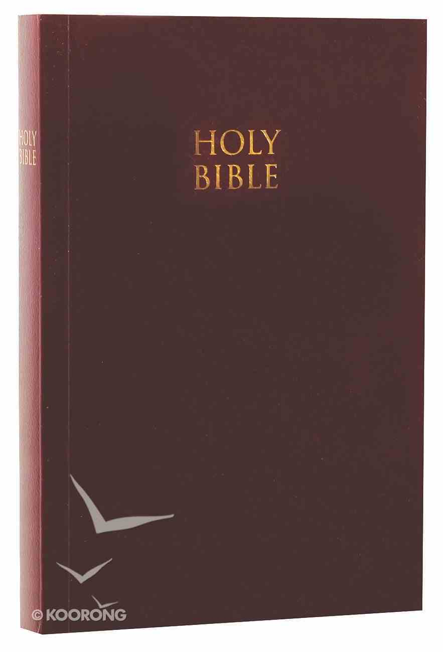 NKJV God's Word to Go Compact Burgundy Softcover Paperback