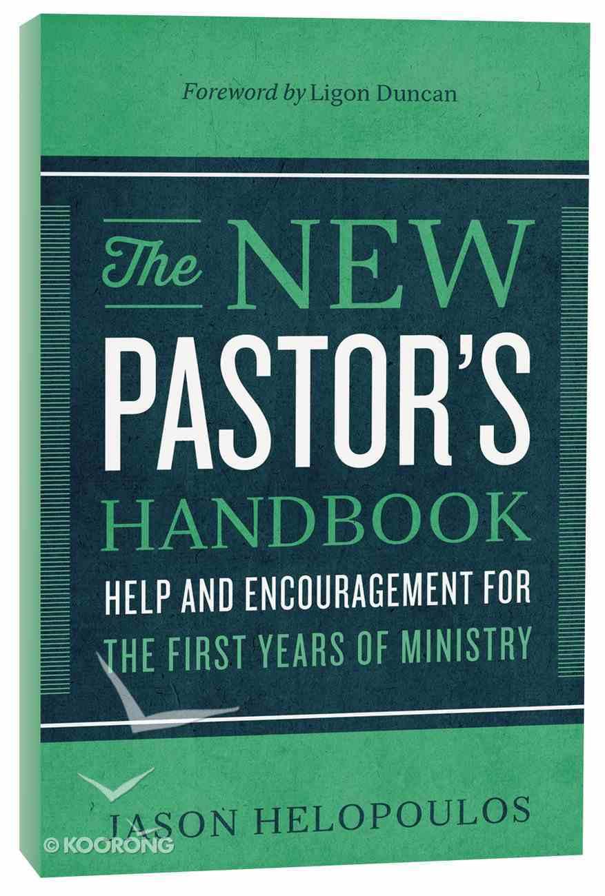 The New Pastor's Handbook Paperback