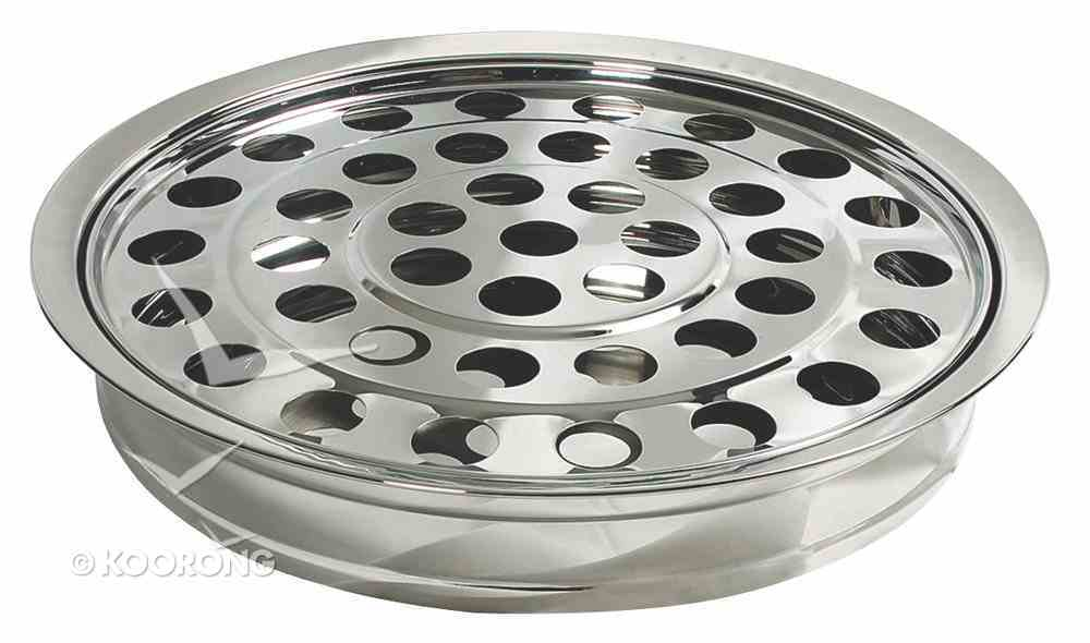 Communion Tray and Disc: Silver Church Supplies