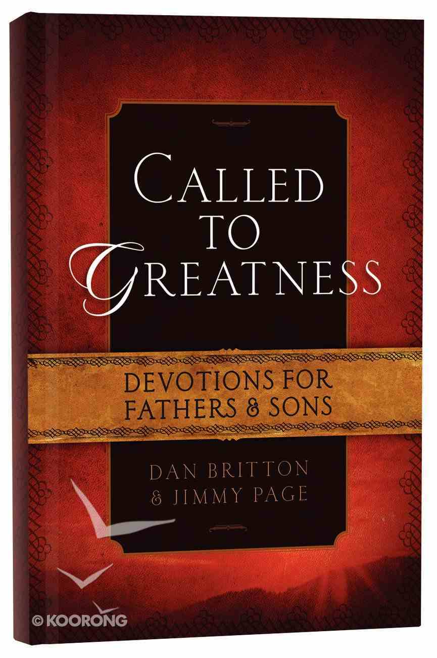 Called to Greatness Hardback