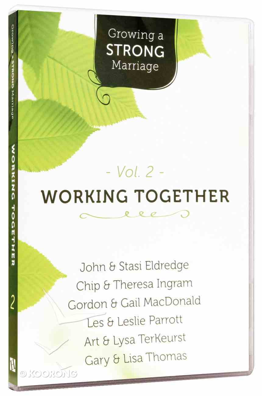 Growing a Strong Marriage: Working Together (Dvd Vol 2) Dvd-rom