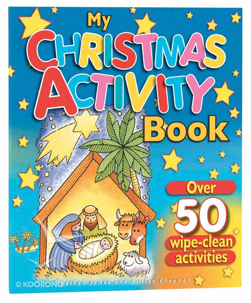 My Christmas Activity Book Novelty Book