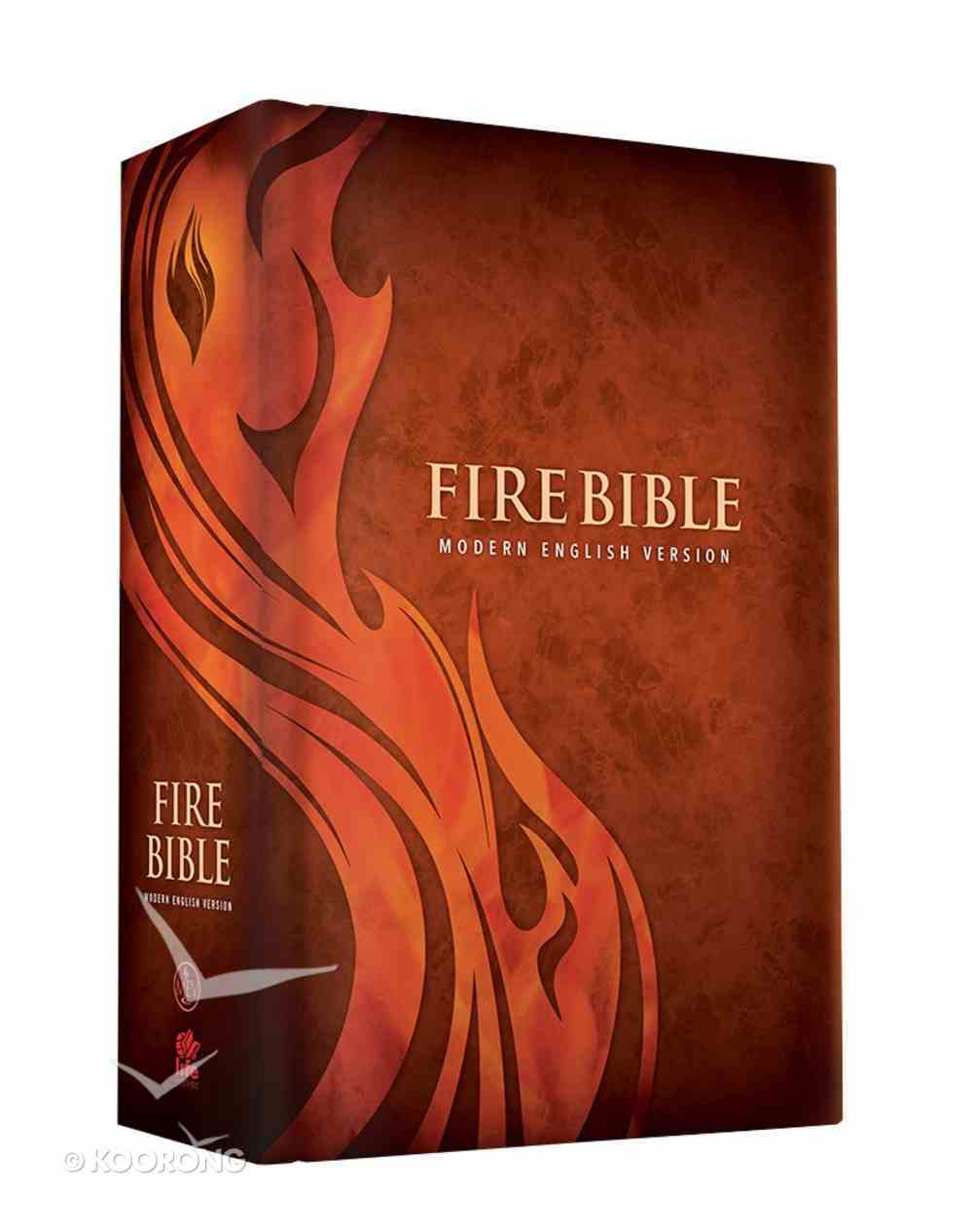 MEV Fire Bible (Red Letter Edition) Hardback