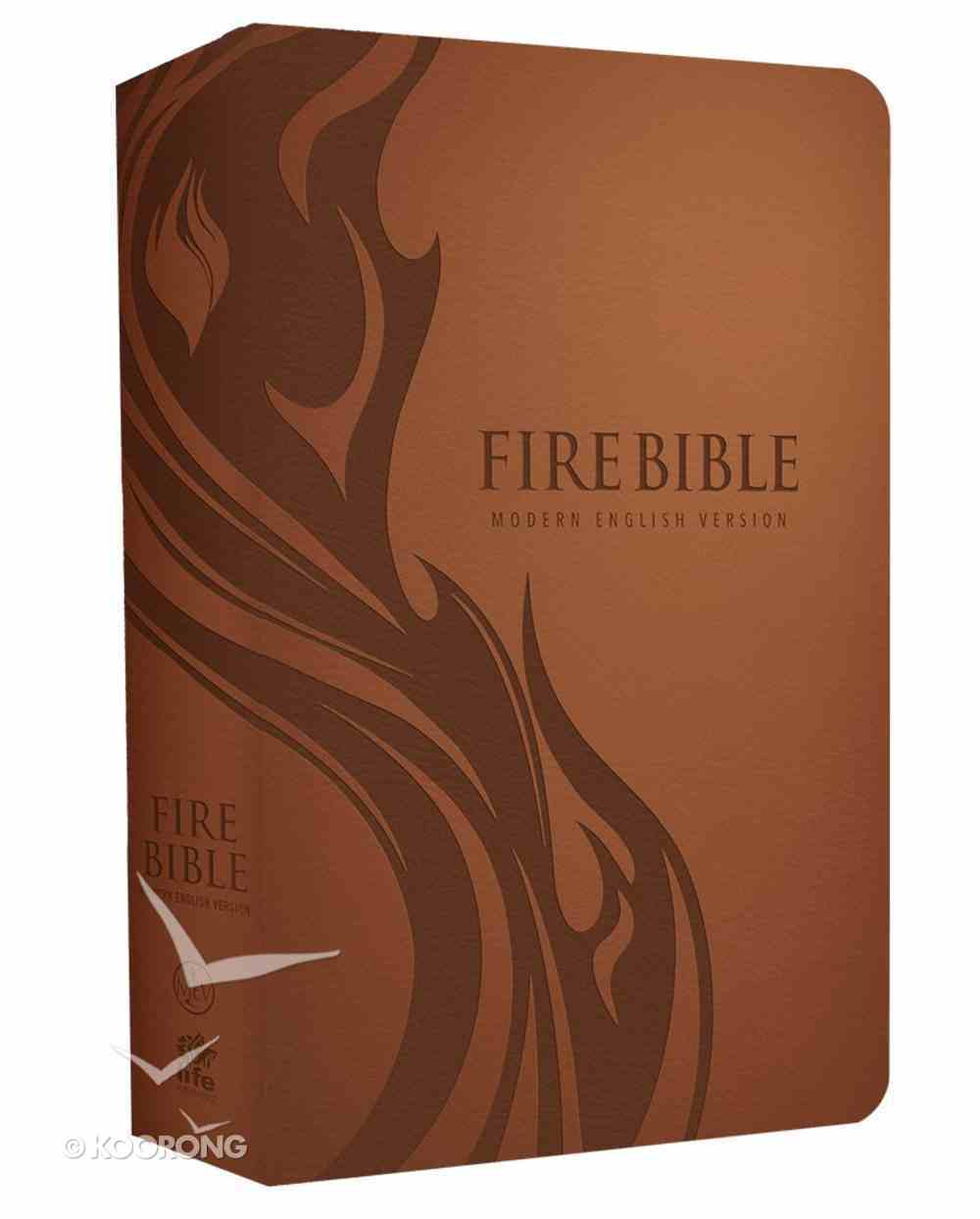 MEV Fire Bible (Red Letter Edition) Imitation Leather