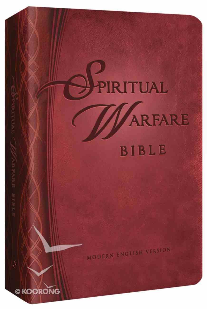 The MEV Spiritual Warfare Bible Imitation Leather