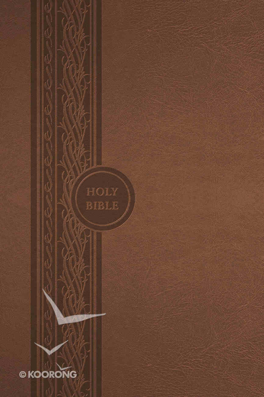 MEV Thinline Reference Bible Brown Imitation Leather