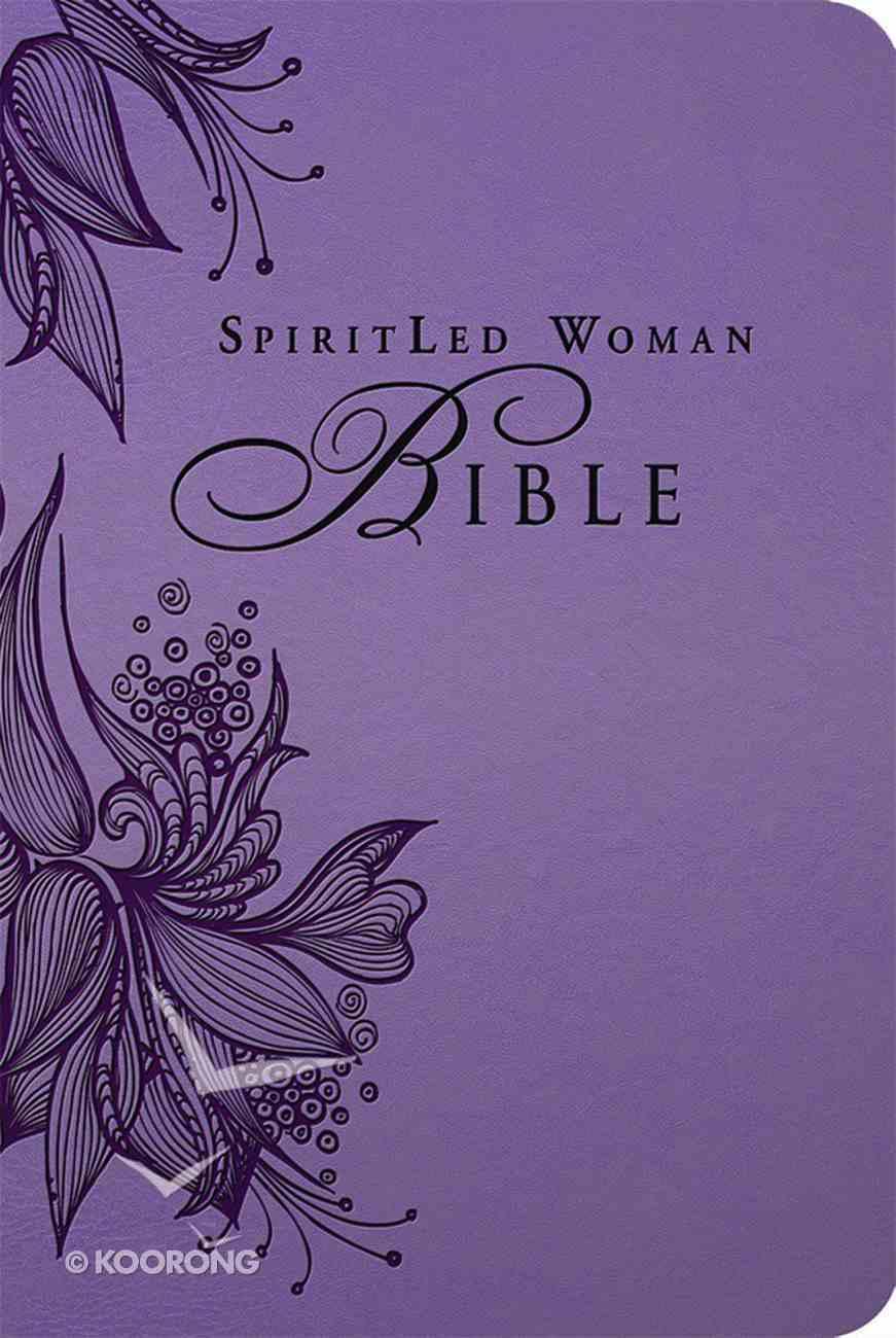 MEV Spiritled Woman Bible Rose Tan Imitation Leather
