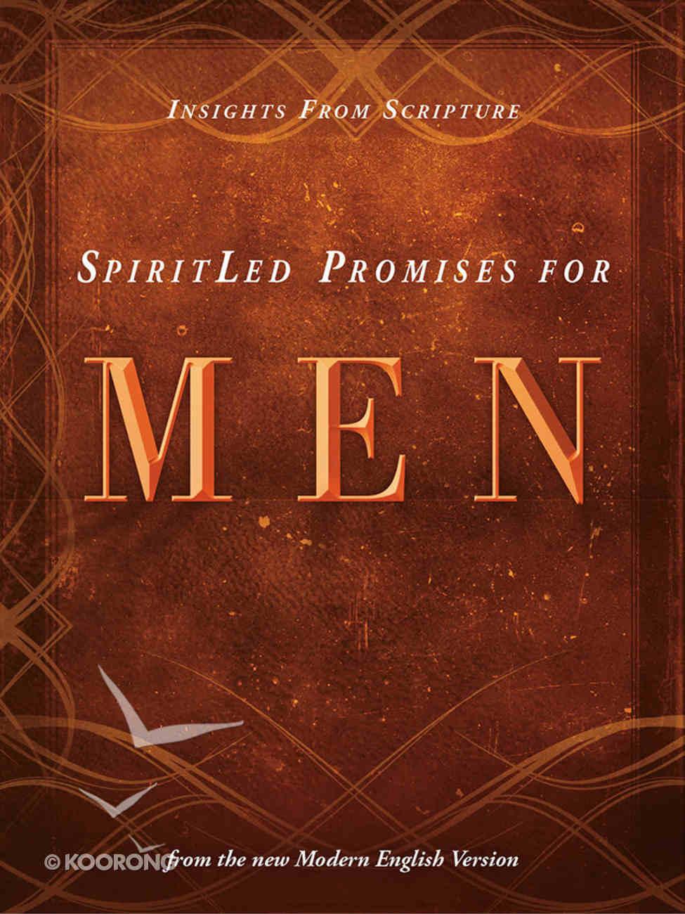 Spiritled Promises For Men Hardback