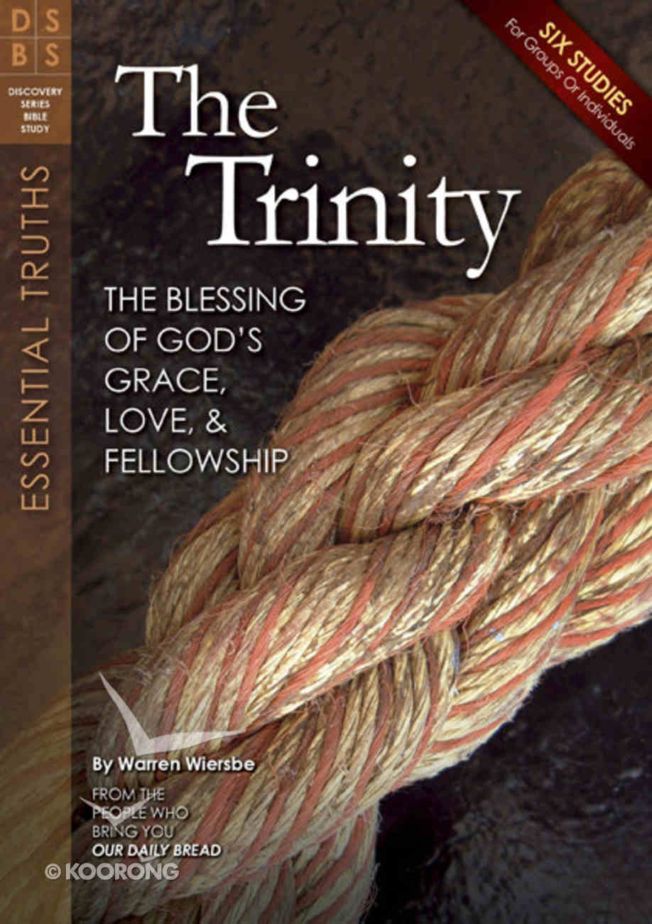 The Trinity (Discovery Series Bible Study) Paperback
