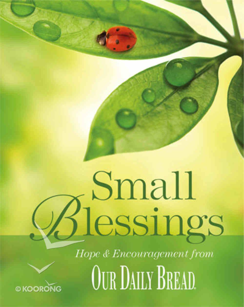 Small Blessings Hardback