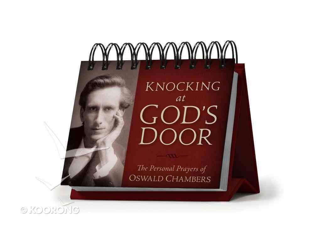 365 Perpetual Calendar: Knocking At God's Door Spiral