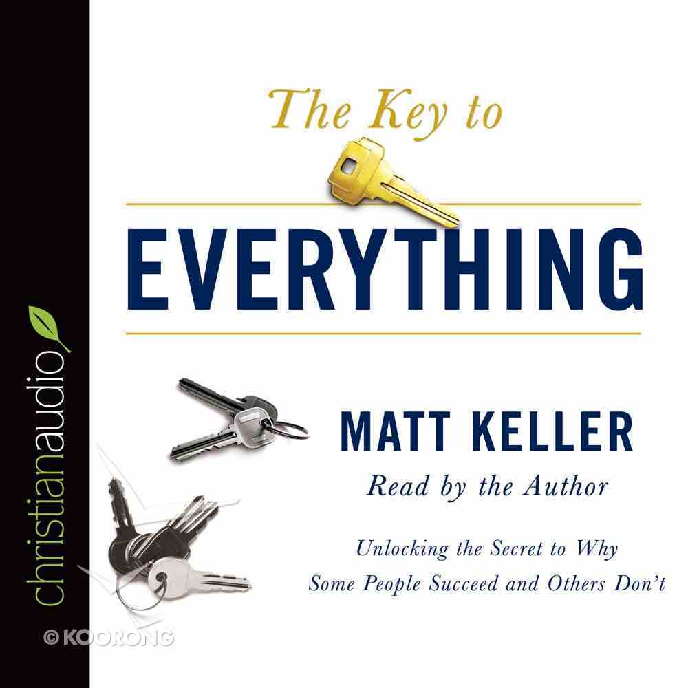 The Key to Everything (Unabridged, 5 Cds) CD