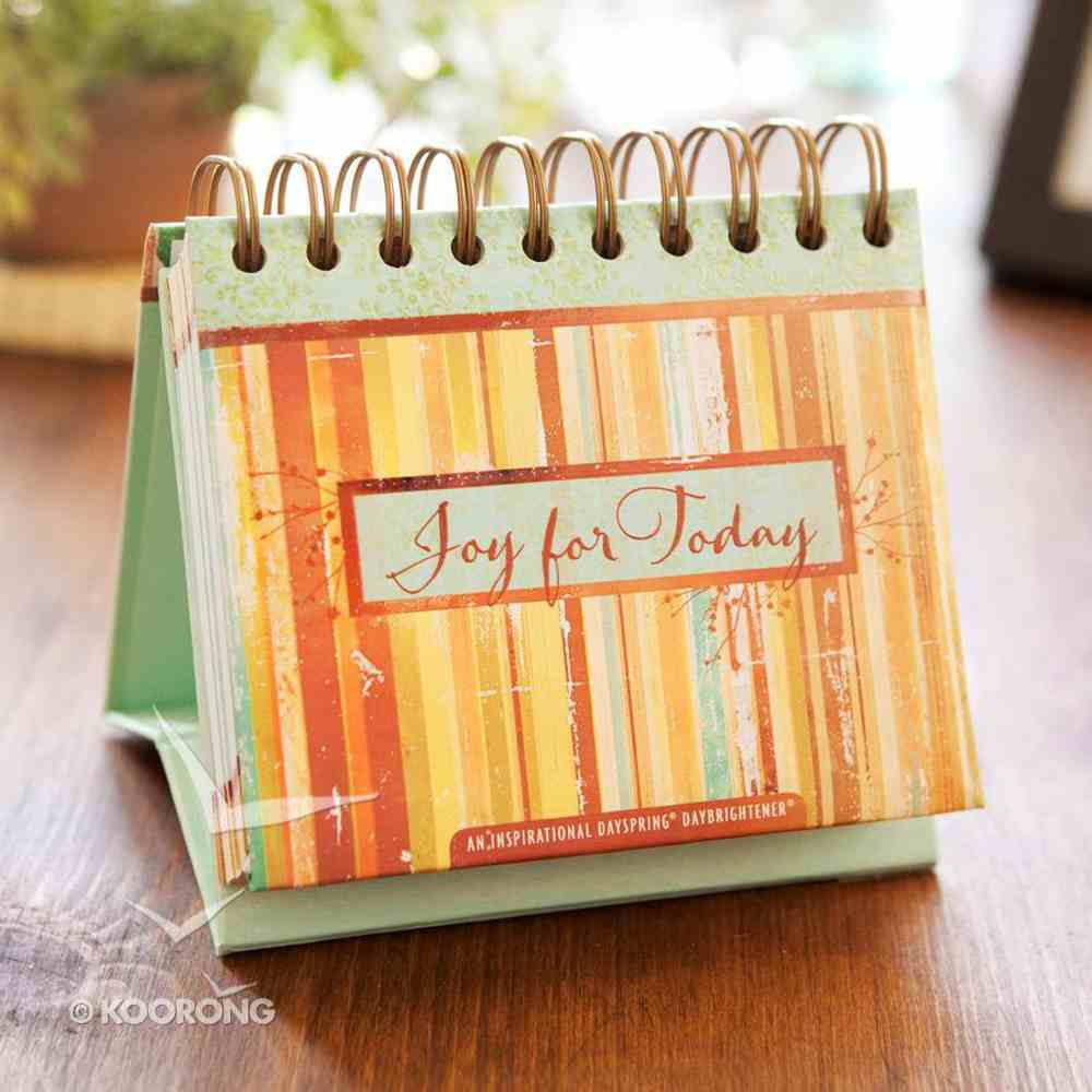 Daybrighteners: Joy For Today (Padded Cover) Spiral