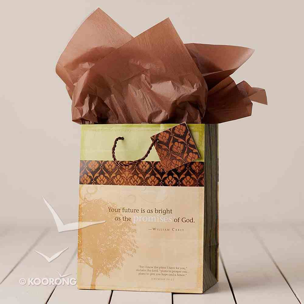 Gift Bag Medium: Faith & Honor (Incl Tissue Paper & Gift Tag) Stationery