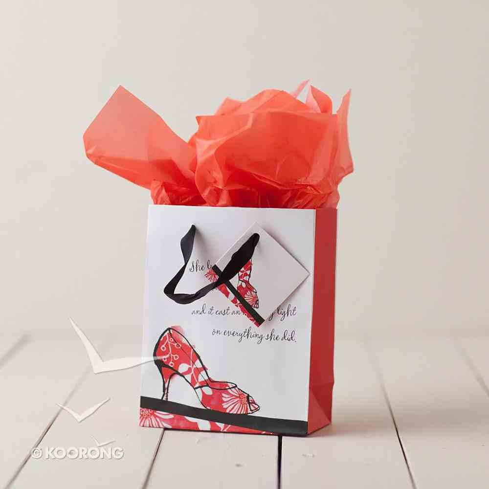 Gift Bag Small: Walk By Faith (Incl Two Sheets Tissue Paper & Gift Tag) Stationery