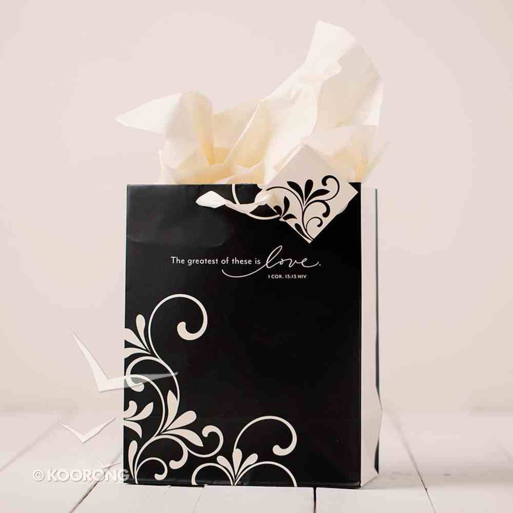 Gift Bag Medium: Romantic Love (Incl Tissue Paper & Gift Tag) Stationery