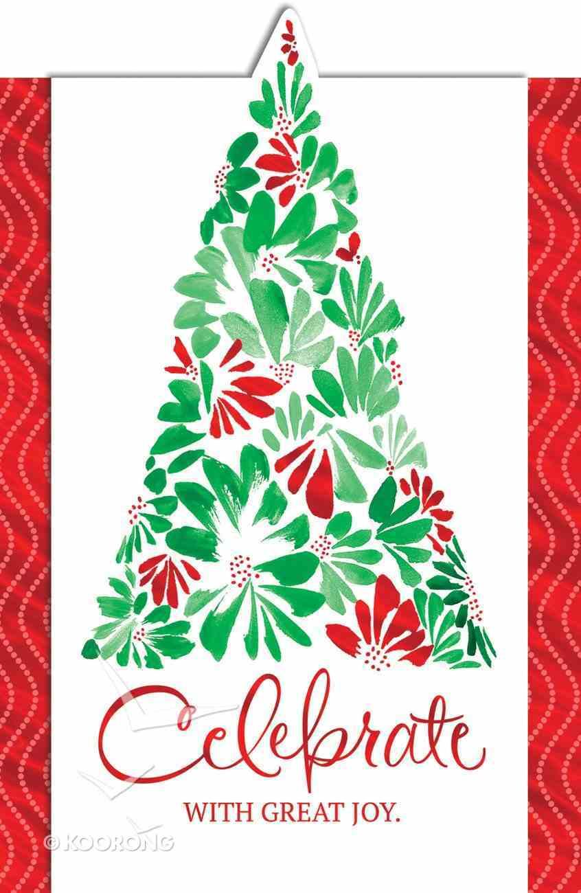 Christmas Boxed Displayable Cards: Celebrate With Great Joy (Nehemiah 8:12 Niv) Box