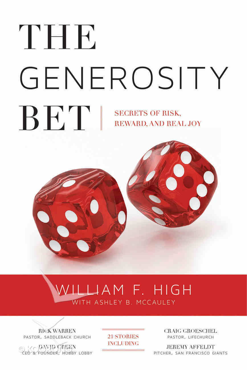 The Generosity Bet Paperback