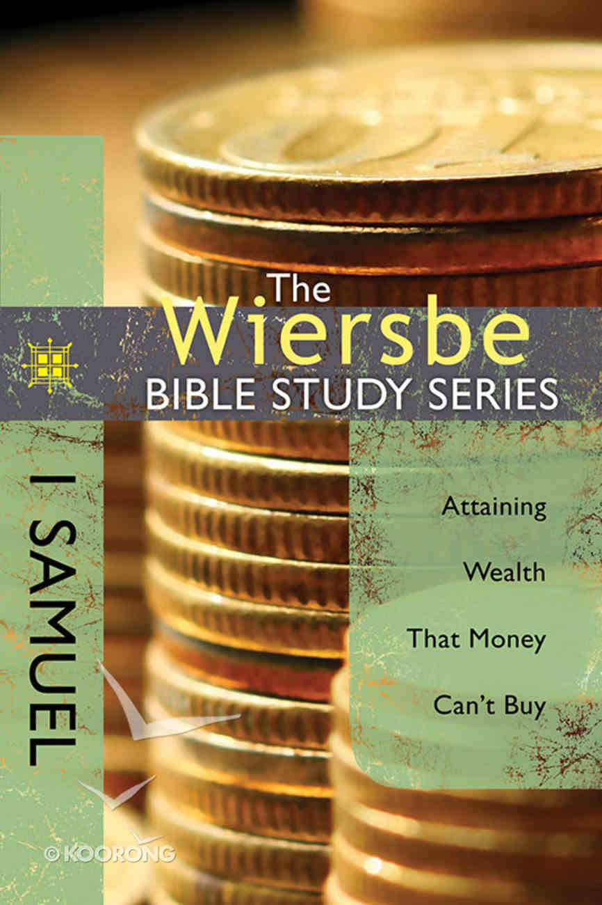 1 Samuel (Wiersbe Bible Study Series) Paperback