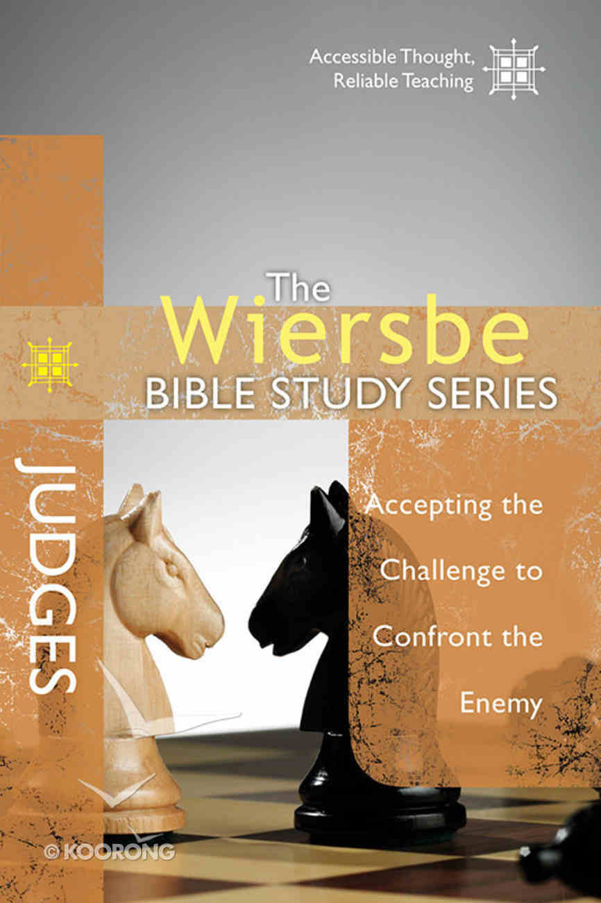 Judges (Wiersbe Bible Study Series) Paperback