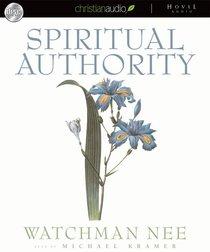 Album Image for Spiritual Authority (Unabridged) (6 Cds) - DISC 1