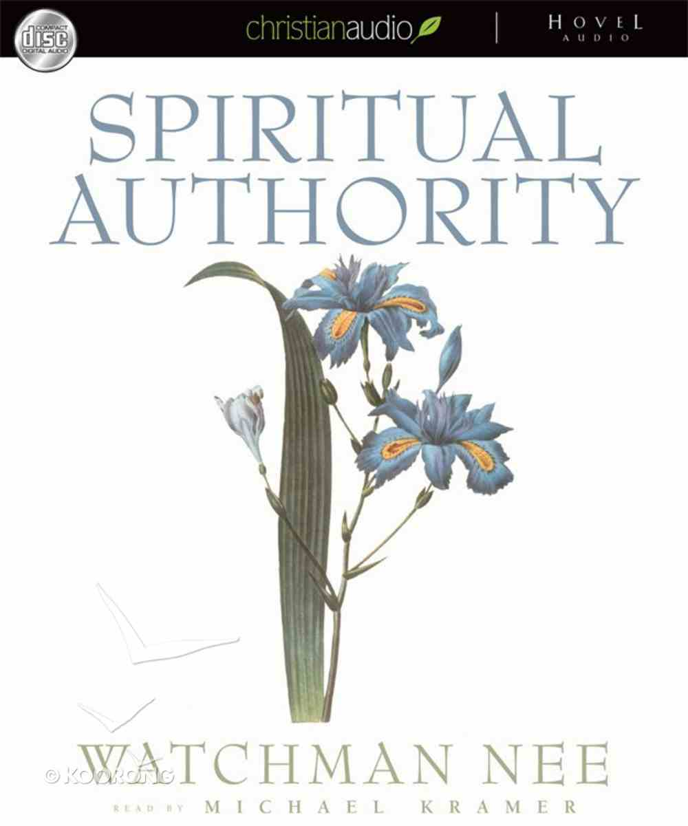 Spiritual Authority (Unabridged) (6 Cds) CD