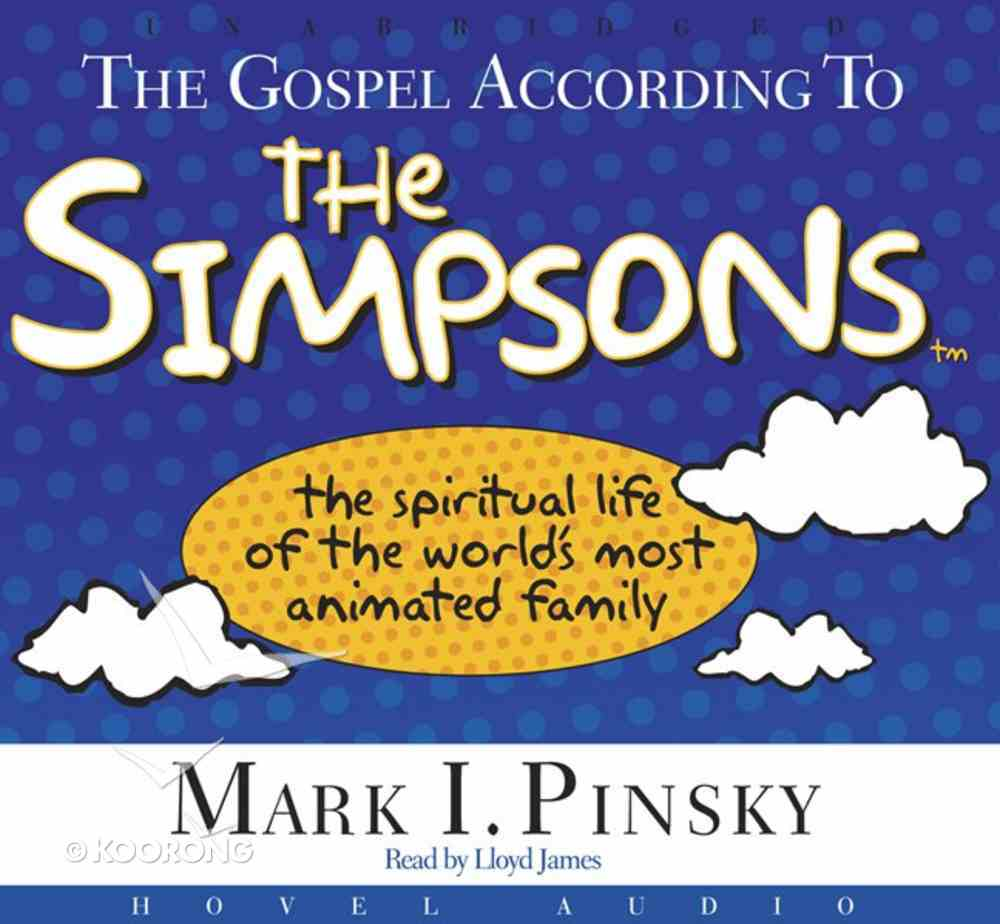 The Gospel According to the Simpsons (Unabridged, 6cds) CD
