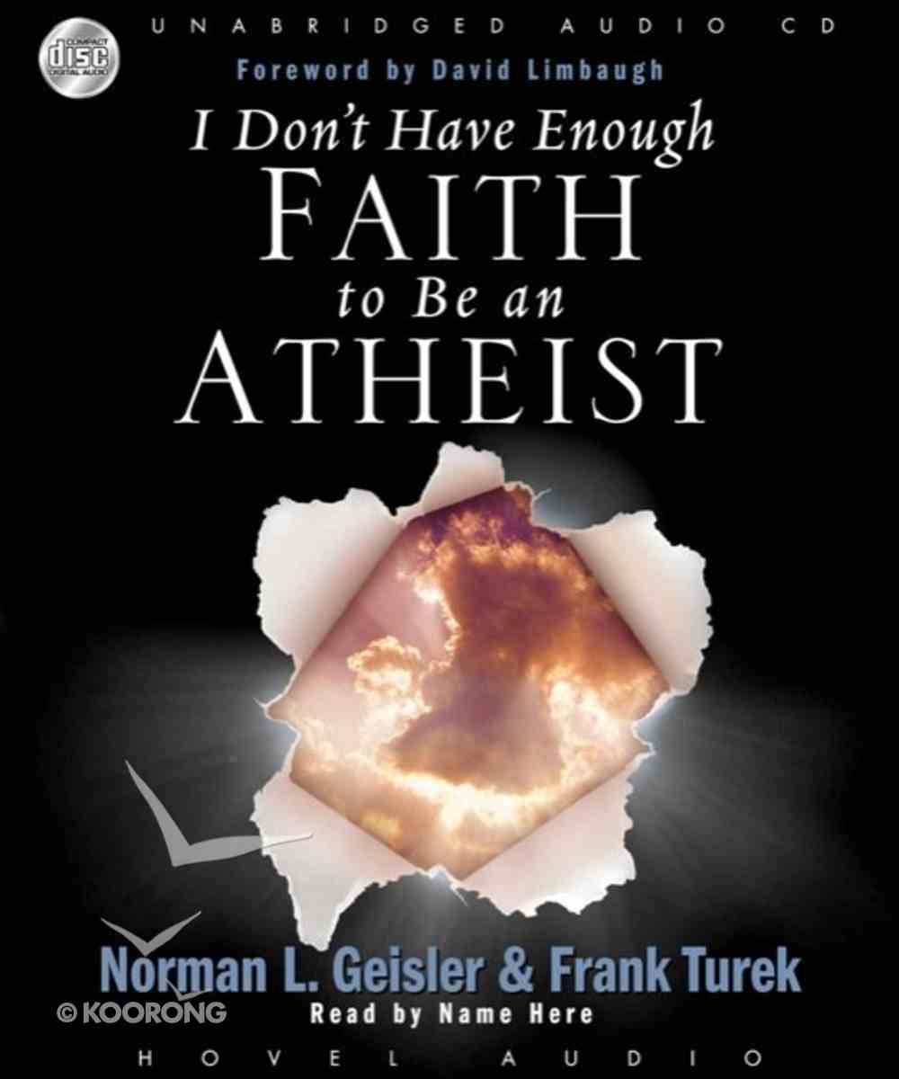 I Don't Have Enough Faith to Be An Atheist (Unabridged) (12 Cds) CD