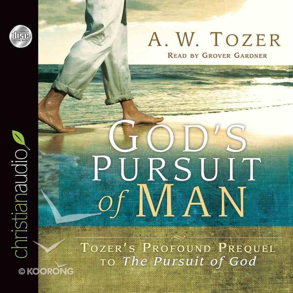 God's Pursuit of Man (Unabridged) (3 Cds) CD