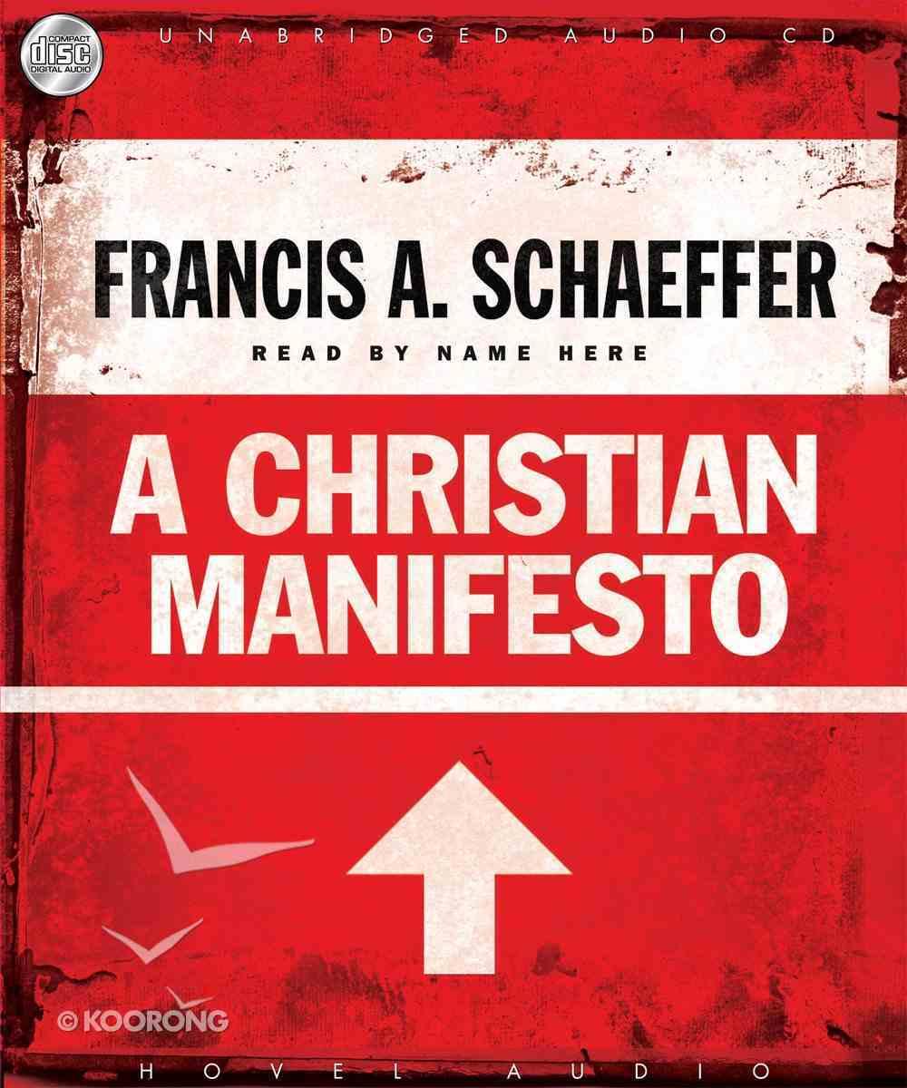 A Christian Manifesto (Unabridged, 3 Cds) CD