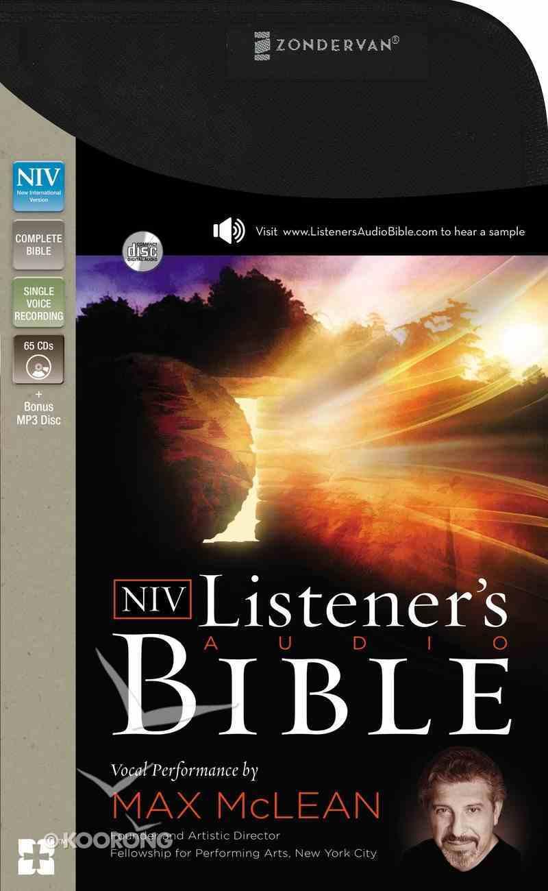 The NIV Listener's Audio Bible eAudio Book