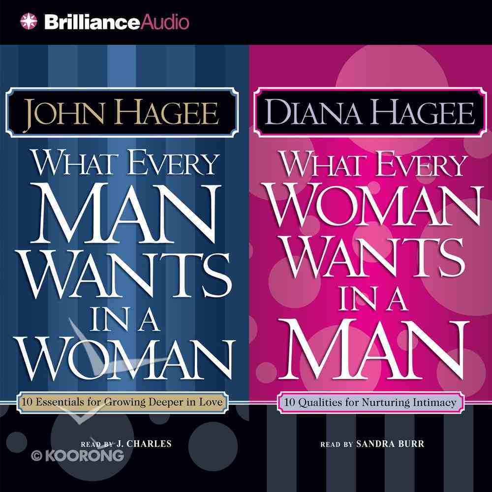 What Every Man Wants in a Woman; What Every Woman Wants in a Man eAudio Book