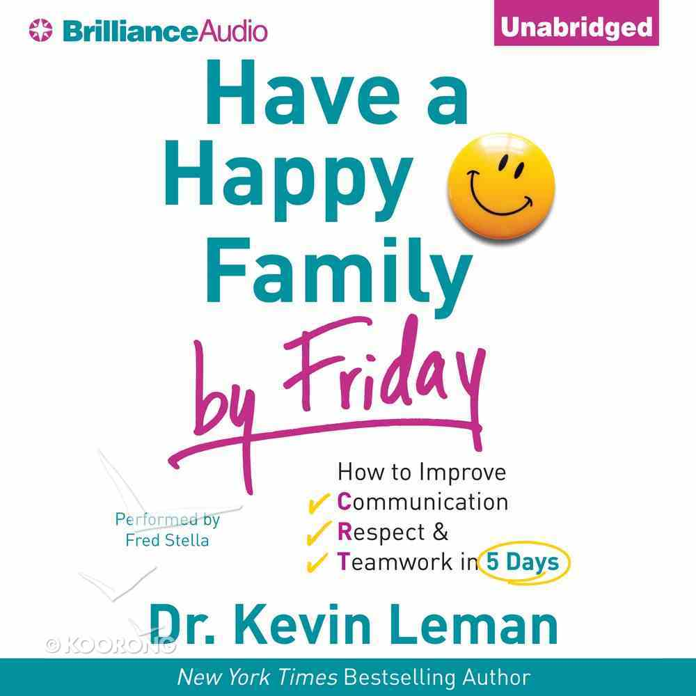 Have a Happy Family By Friday eAudio Book
