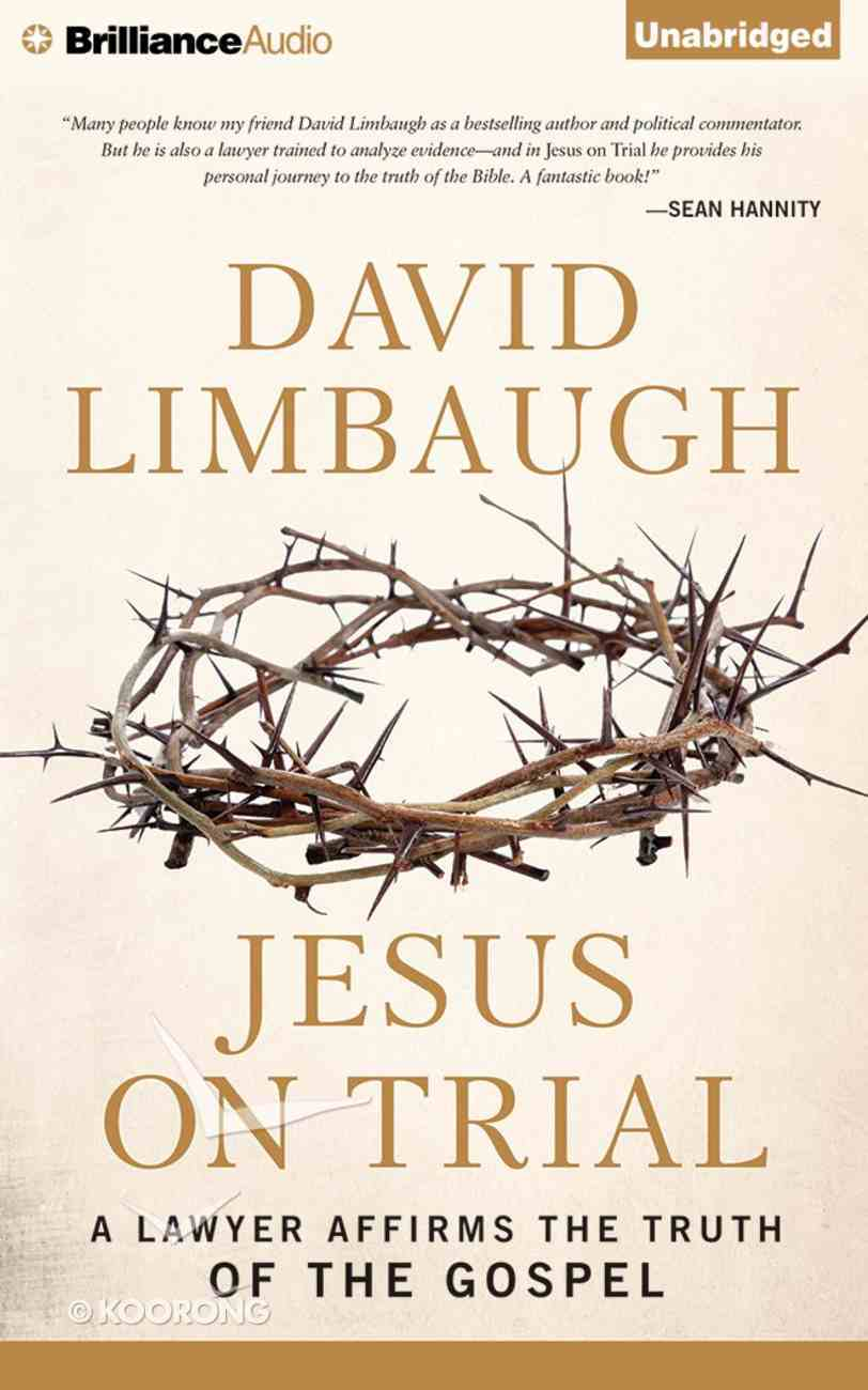 Jesus on Trial eAudio Book
