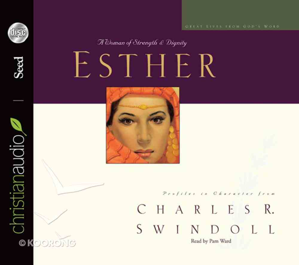 Esther (6 CDS Unabridged) (Great Lives From God's Word Series) CD