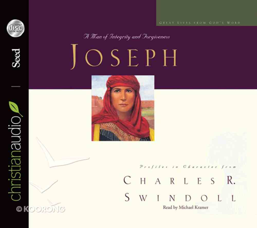 Joseph (6 CDS Unabridged) (Great Lives From God's Word Series) CD
