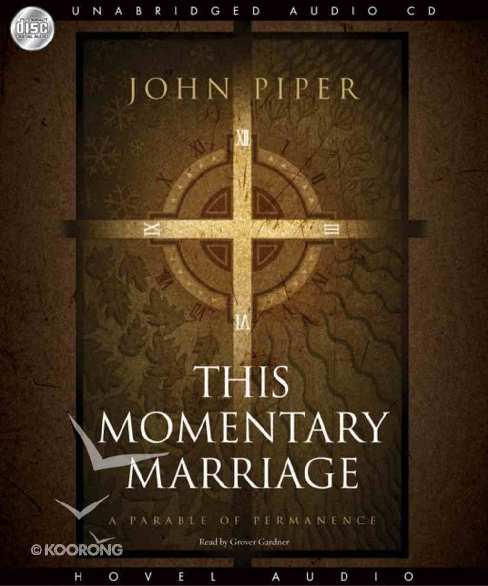 This Momentary Marriage CD