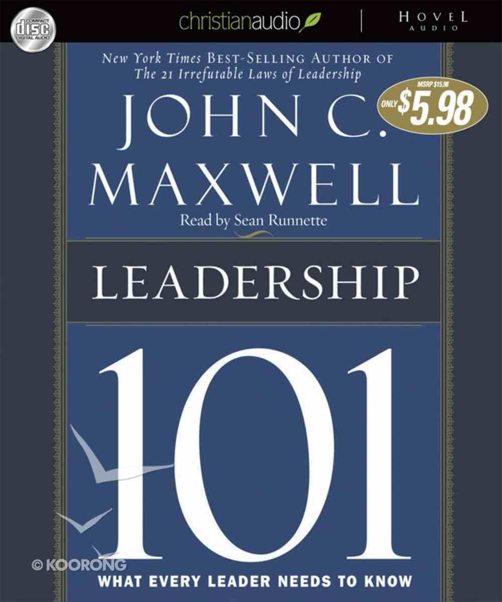 Leadership 101 (Unabridged) CD