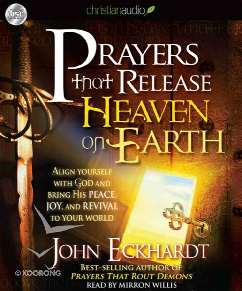 Prayers That Release Heaven on Earth (Unabridged 3cds) CD