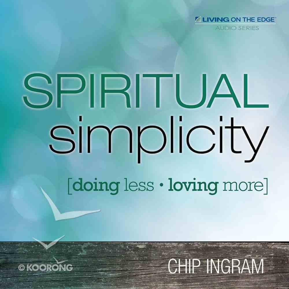 Spiritual Simplicity eAudio Book
