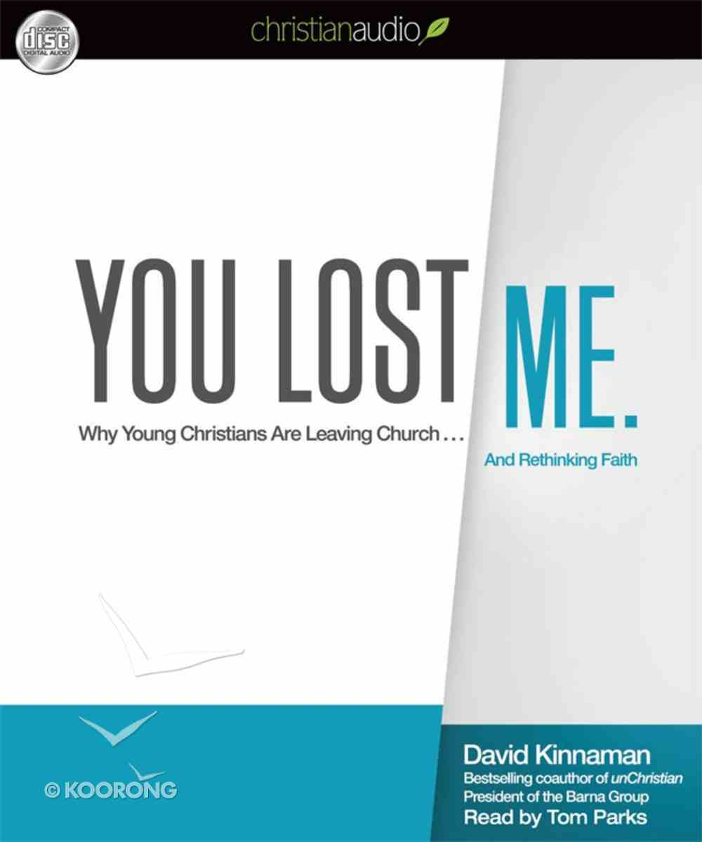 You Lost Me. (Unabridged, 6 Hrs, 5 Cds) CD