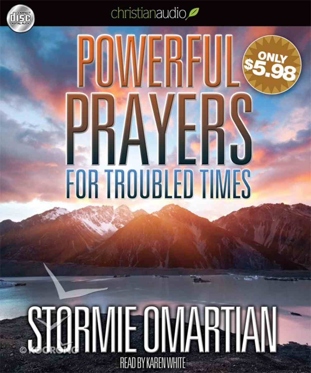 Powerful Prayers For Troubled Times (Unabridged, 2 Cds) CD