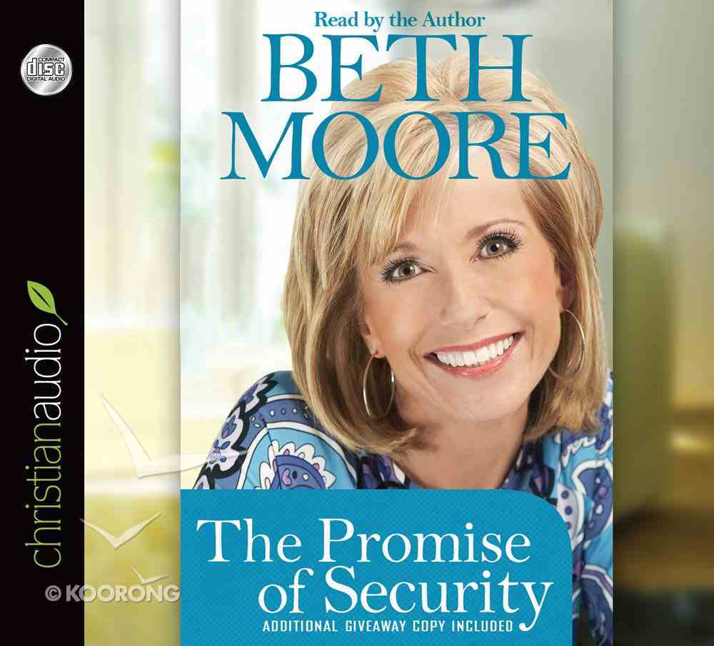 The Promise of Security (Unabridged, 1 Cd) CD